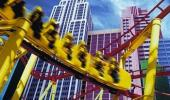 New York New York Hotel and Casino Roller Coaster Ride