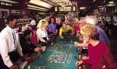 Palace Station Hotel and Casino Craps Table