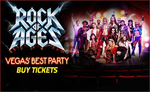 Rock of Ages Show Tickets at The Venetian Las Vegas - Buy direct from Rock of Ag