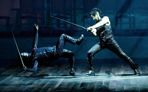 Criss Angel MINDFREAK LIVE at the Luxor Hotel