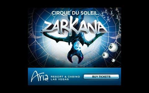 Cirque du Soleils Zarkana Las Vegas