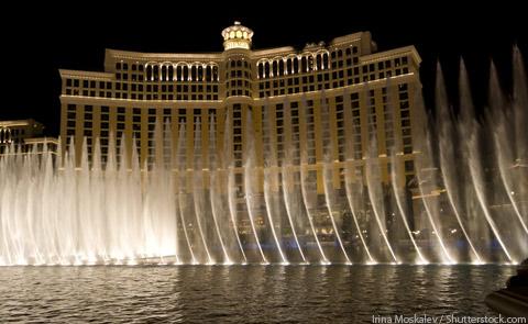 Bellagio Fountains Las Vegas NV