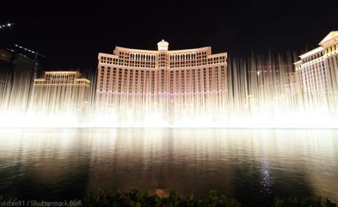 Bellagio Hotel and Casino Fountains Las Vegas NV