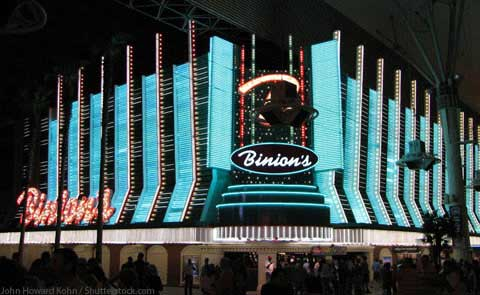 Binions Gambling Hall Las Vegas NV