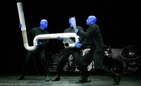 Blue Man Group Show Las Vegas NV
