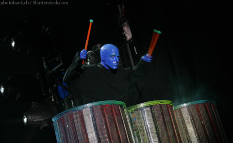 Blue Man Group Luxor Las Vegas Nevada