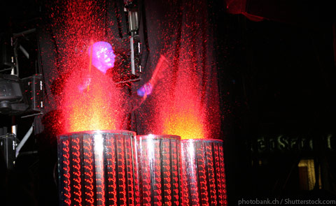 Blue Man Group Performance Las Vegas NV