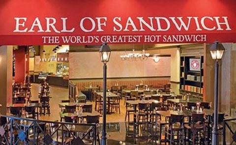 Earl Of Sandwich Restaurant Las Vegas NV