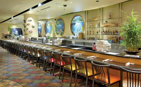 Koji Sushi Bar and China Bistro at The Orleans Hotel and Casino Vegas