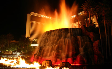 The Mirage Volcano Las Vegas NV
