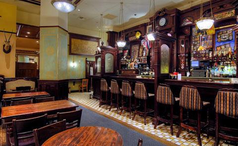 Nine Fine Irishmen Restaurant Las Vegas Nevada