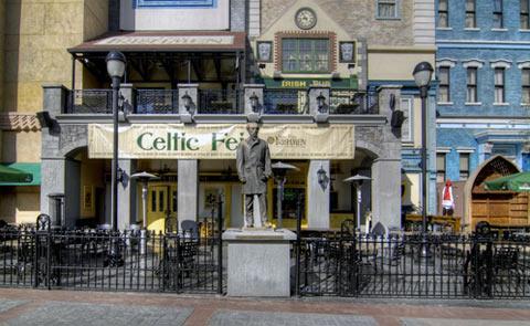 Nine Fine Irishmen Bar Las Vegas NV