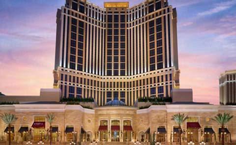 The Palazzo Resort Hotel and Casino at the Venetian