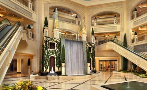 The Palazzo Hotel and Casino Las Vegas NV