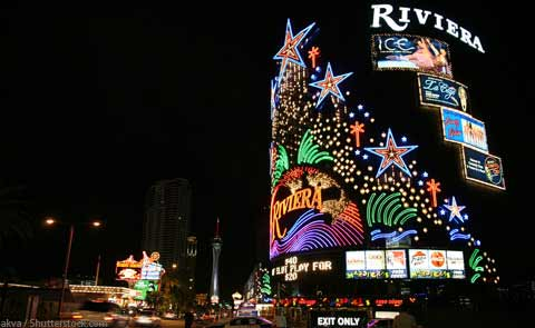 Riviera Hotel and Casino Las Vegas NV