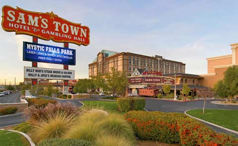 Sams Town Hotel and Gambling Hall Las Vegas NV