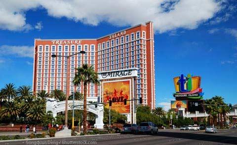 Treasure Island Hotel and Casino Las Vegas NV