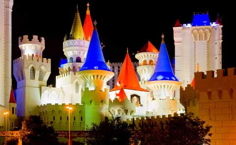 The Excalibur Hotel Las Vegas NV