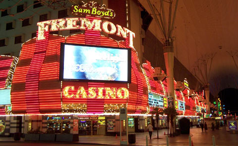 Fremont Hotel and Casino Las Vegas Nevada