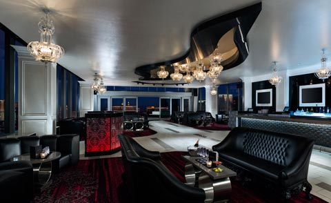 Ghostbar at The Palms - 360 Degree Views of the VEgas Strip.