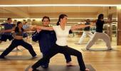 Bellagio Hotel Yoga Class