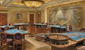 Caesars Palace Hotel Roulette and Blackjack Tables