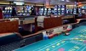 California Hotel and Casino Craps Table