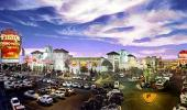Fiesta Rancho Hotel and Casino Front Entrance and Parking Lot
