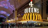 Four Queens Hotel and Casino on Fremont Street Las Vegas NV