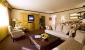 Four Queens Hotel and Casino Guest Petite Suite Living Room