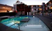 Gold Spike Hotel and Casino Exterior and Pool Area