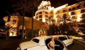 J W Marriott Las Vegas Resort Hotel Front Entrance and Valet