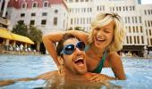 New York New York Hotel and Casino Swimming Pool
