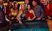 New York New York Hotel and Casino Craps Table
