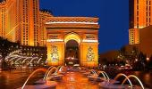 Paris Las Vegas Hotel Outside
