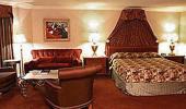 Paris Las Vegas Hotel Guest Lemans Suite with Sofa