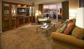 The Signature at MGM Grand Hotel Guest Suite TV Room