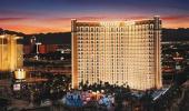 Aerial View of TI Treasure Island Hotel and Casino