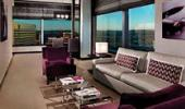 Vdara Hotel and Spa Guest Living Room with View