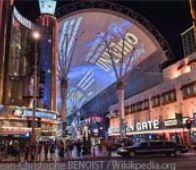 Freemont Street Experience Las Vegas NV