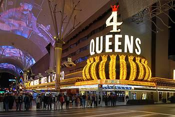 Four Queens Hotel And On Fremont Street Las Vegas Nv