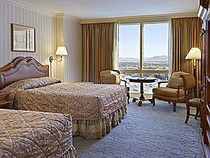 Paris Las Vegas Hotel Guest Room With View