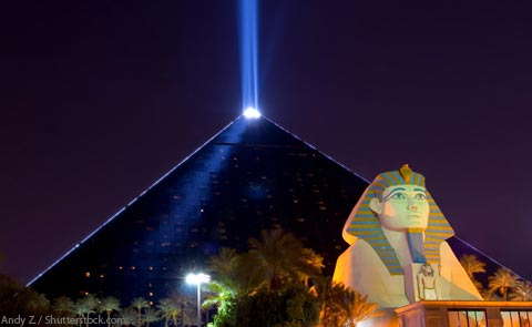 Luxor Hotel and Casino Las Vegas Nevada