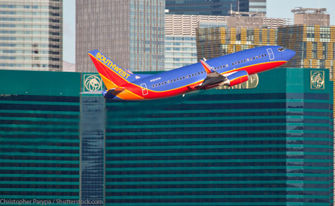 With daily nonstop service and our legendary discount fares, Southwest makes it convenient – and cheap – to take in a show, enjoy the casinos, or just see the sights of Las Vegas.