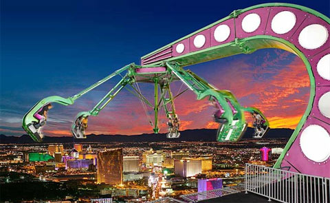 Stratosphere Hotel And Las Vegas Nevada